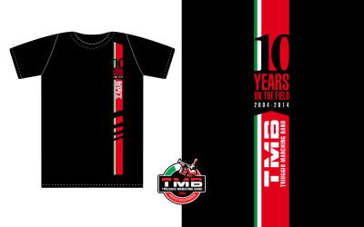 T-shirt-TMB-decimo-nera
