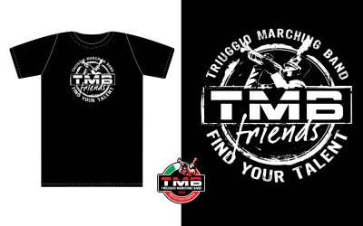 T-shirt-TMB-friends-nera