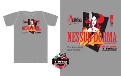T-shirt-TMB-nessundorma-grigia